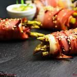 Grillowane szparagi z szynką szwarcwaldzką