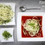 Pomidorowa z makaronem cukiniowym - dieta dr Dąbrowskiej