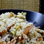 Ryz z cukinia i marchewka w 15 min