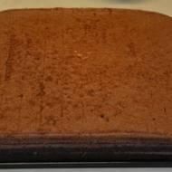 Fistaszek - biszkopt z kremem z masła orzechowego