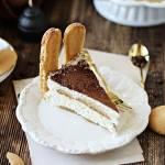 Tort tiramisu (bez pieczenia, bez jajek)