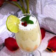 Deser jaglany z kiwi i miętą (Vege & White sugar free)
