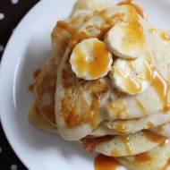 Placuszki ryżowe z bananami i karmelem
