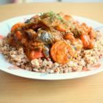 Gulasz z warzywami i indykiem :)