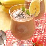Mus czekoladowo-bananowy z chia