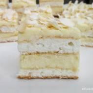 Białe ciasto komunijne