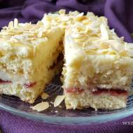 Ciasto Malakoff w wersji rumowej