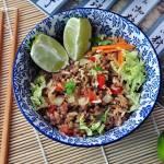 Ryż jaśminowy z wołowiną