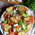 Sałatka z młodymi ziemniakami