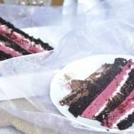 Leśny tort czekoladdowy