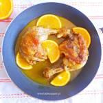 Udka kurczaka w sosie pomarańczowo-imbirowym