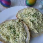 Wielkanocna pasta jajeczna.