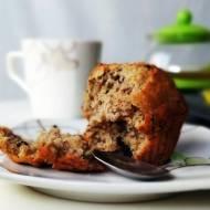 Bananowe muffinki z czekoladą – bez jajek!