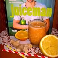 Koktajl na odporność wg Juicemana + recenzja książki