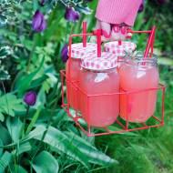 Lemoniada rabarbarowa z grapefruitem i rozmarynem