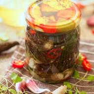 Smardze z fetą w oliwie
