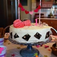 Tort cytrynowo - ajerkoniakowy