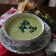 Zupa krem z brokuł i serka