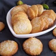 Ciastka kokosowe z cukrem