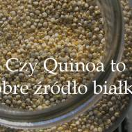 Czy Quinoa to dobre źródło białka?