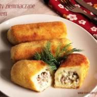 Krokiety ziemniaczane z farszem – kuchnia podkarpacka