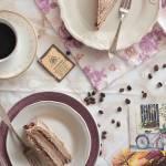 Bezglutenowy torcik kawowy na aquafabie