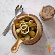 Ogórkowa sałatka do obiadu