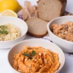 Hummus w trzech smakach
