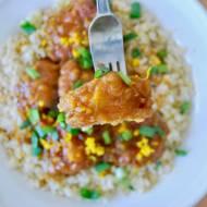 Chiński, pomarańczowy kurczak