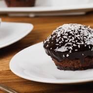 Czekoladowo - waniliowe muffinki z wiórkami kokosowymi