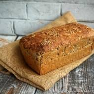 Prosty chleb razowy, pszenno-orkiszowy