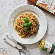 Spaghetti z kremem ze szparagów