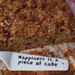 Kawałek szczęścia, czyli ciasto z rabarbarem, orzechami z chrupiącą skórką