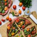 Rustykalna pizza wiosenna
