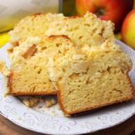 Ciasto drożdżowe z jabłkami BEZ WYRASTANIA