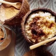 Quinoa na mleku z cynamonem (wersja wegańska kokosowa)
