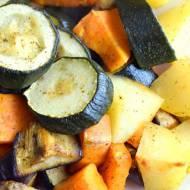 Warzywa pieczone - idealny dodatek do obiadu :)