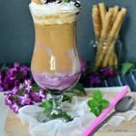 Kawa jagodowo-jogurtowa (na zimno)