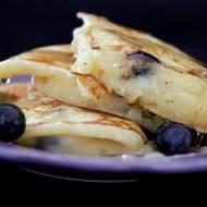 Pancake Gordona z borówkami i ricottą