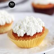 Muffinki cytrynowe – najlepsze – wersja bez miksera