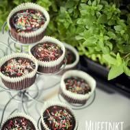 Muffinki z burakiem