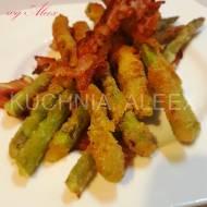 Panierowane szparagi z boczkiem wg Aleex