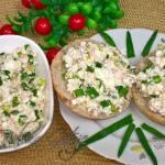 Pyszna Pasta Na Kanapki z Makrelą z Puszki i Twarogiem