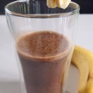 Smoothie kawowo-bananowe bez cukru