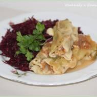 Cannelloni z mięsem mielonym i ziołami oraz