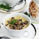 Zupa pieczarkowa na maśle