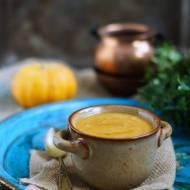 Zupa krem z dyni i batatow