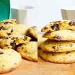 Bezglutenowe ciasteczka z kawałkami czekolady (5 składników)