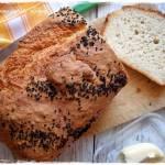 Chleb na kefirze – bez wyrabiania i wyrastania