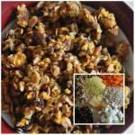 granola z marchewka i olejem kokosowym